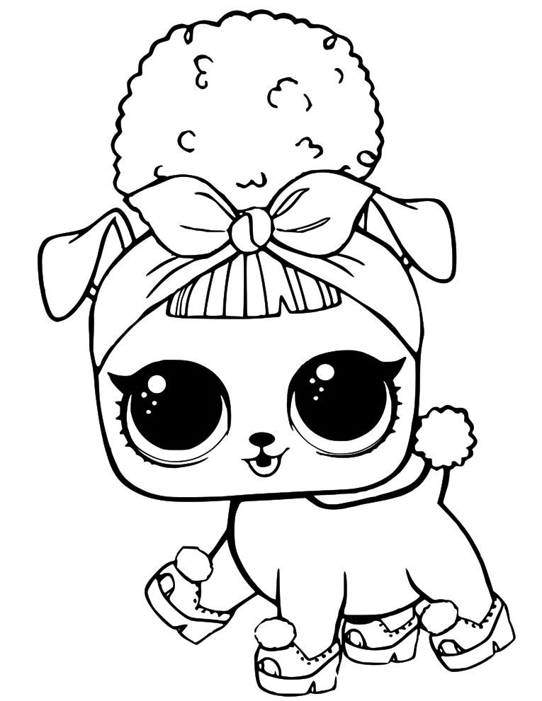 coloring pages dolls - photo#40