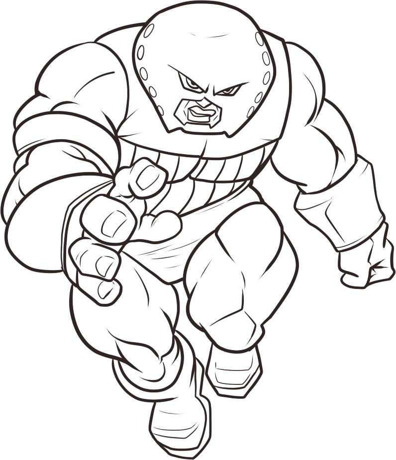 superhero free coloring pages - photo#41