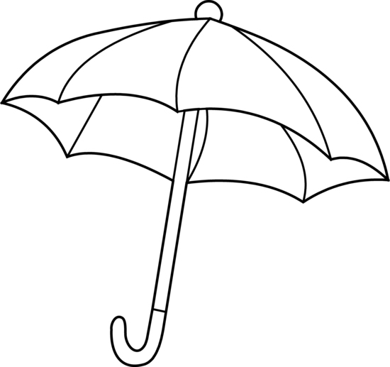 Umbrella Coloring Pages - Best Coloring Pages For Kids