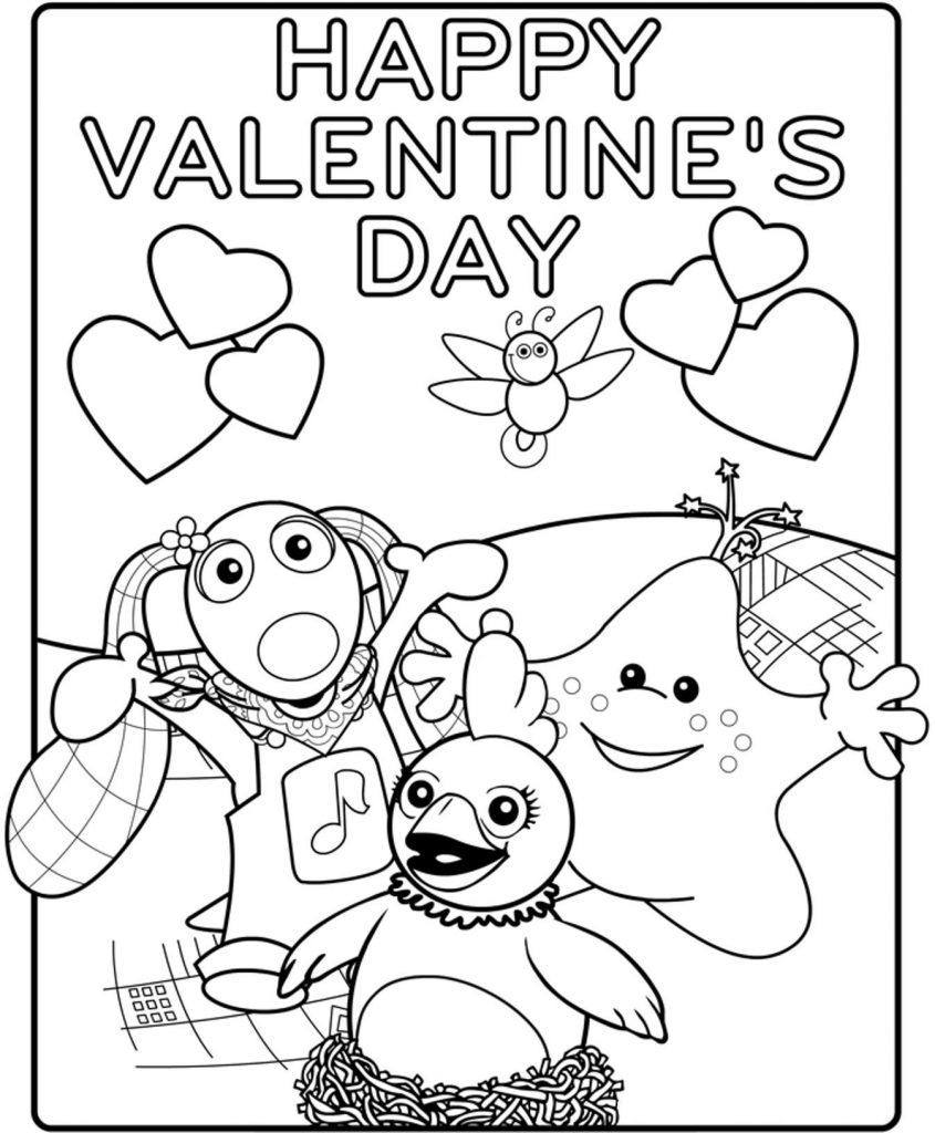 Happy Printable Valentines Day Card