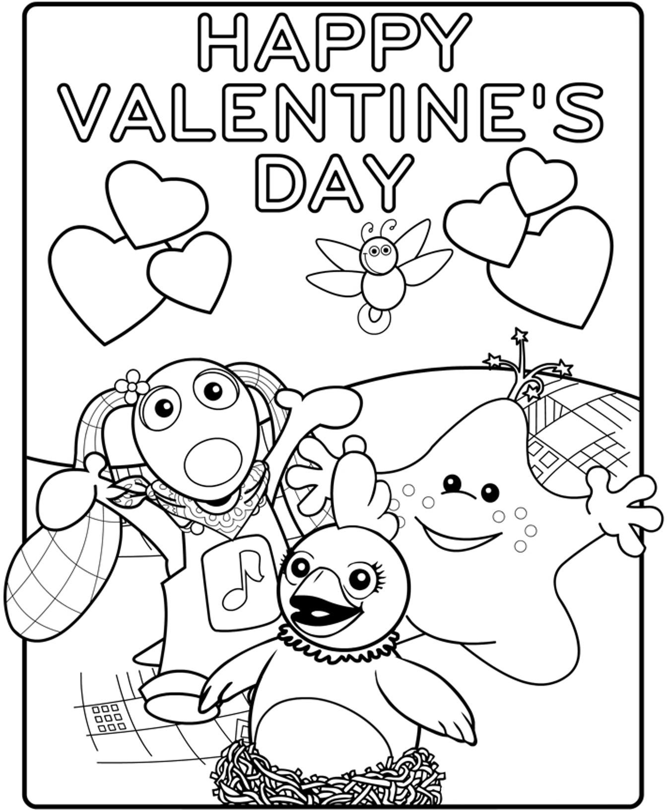 Printable Valentines Day Cards - Best Coloring Pages For Kids | 1631x1346