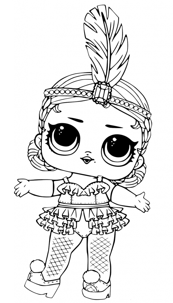Légend image in lol dolls printable coloring pages