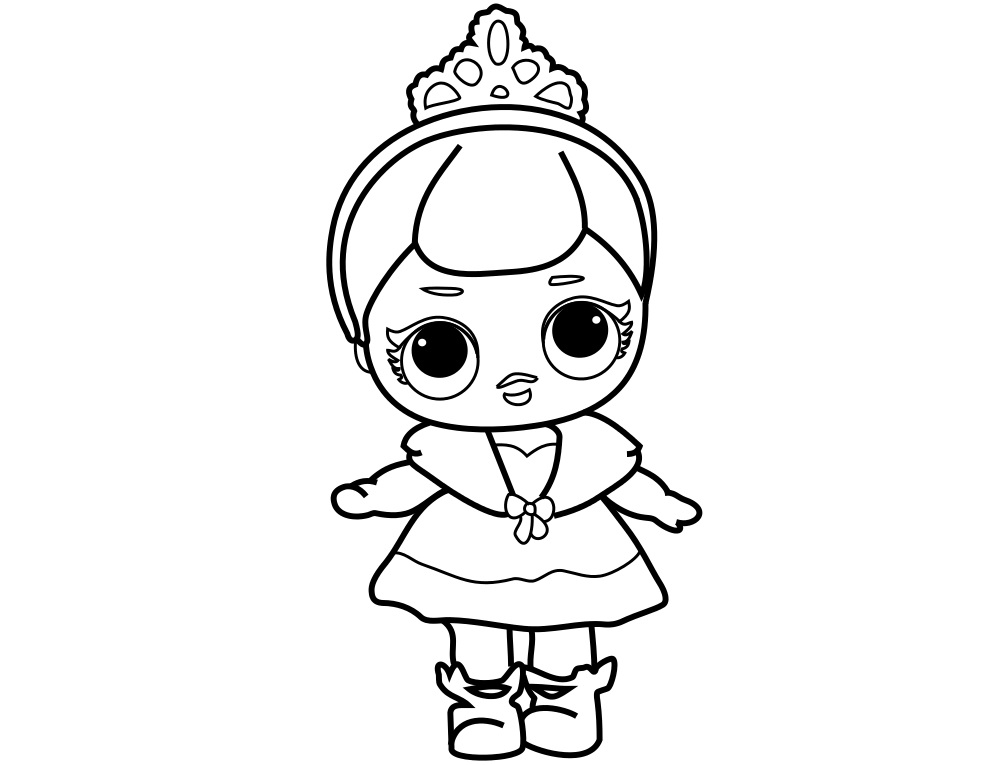 LOL Dolls Coloring Pages Best