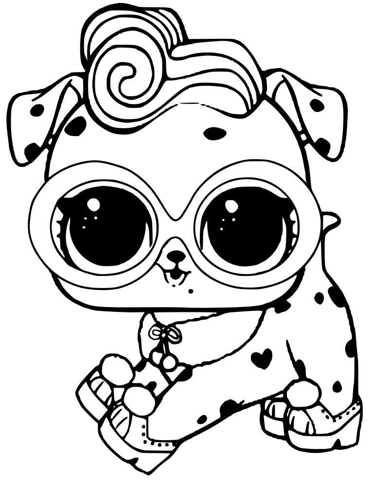 coloring pages pets printable - photo#45