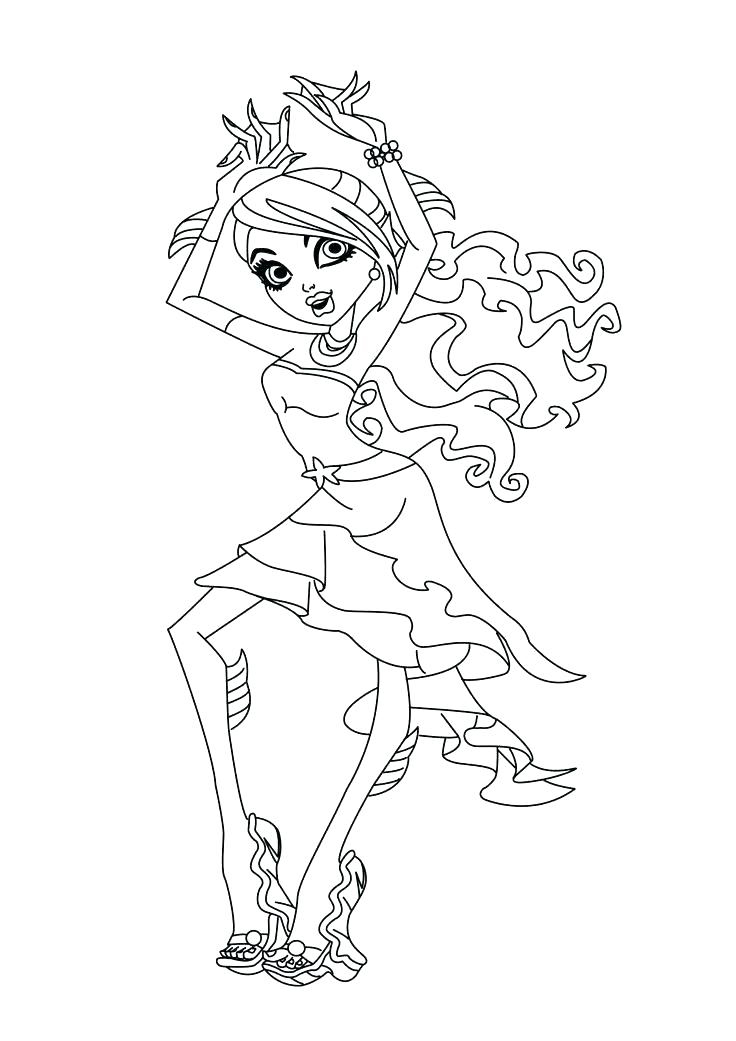 Dance Coloring Pages - Best Coloring Pages For Kids | 1041x736
