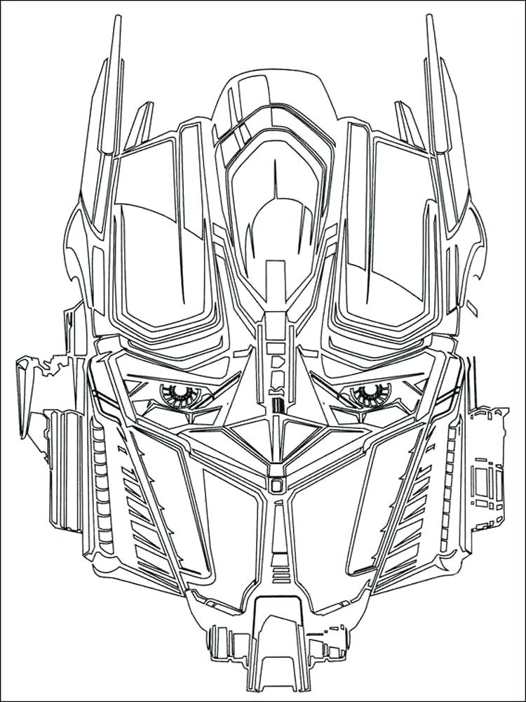 Optimus Prime Coloring Pages Best Coloring Pages For Kids