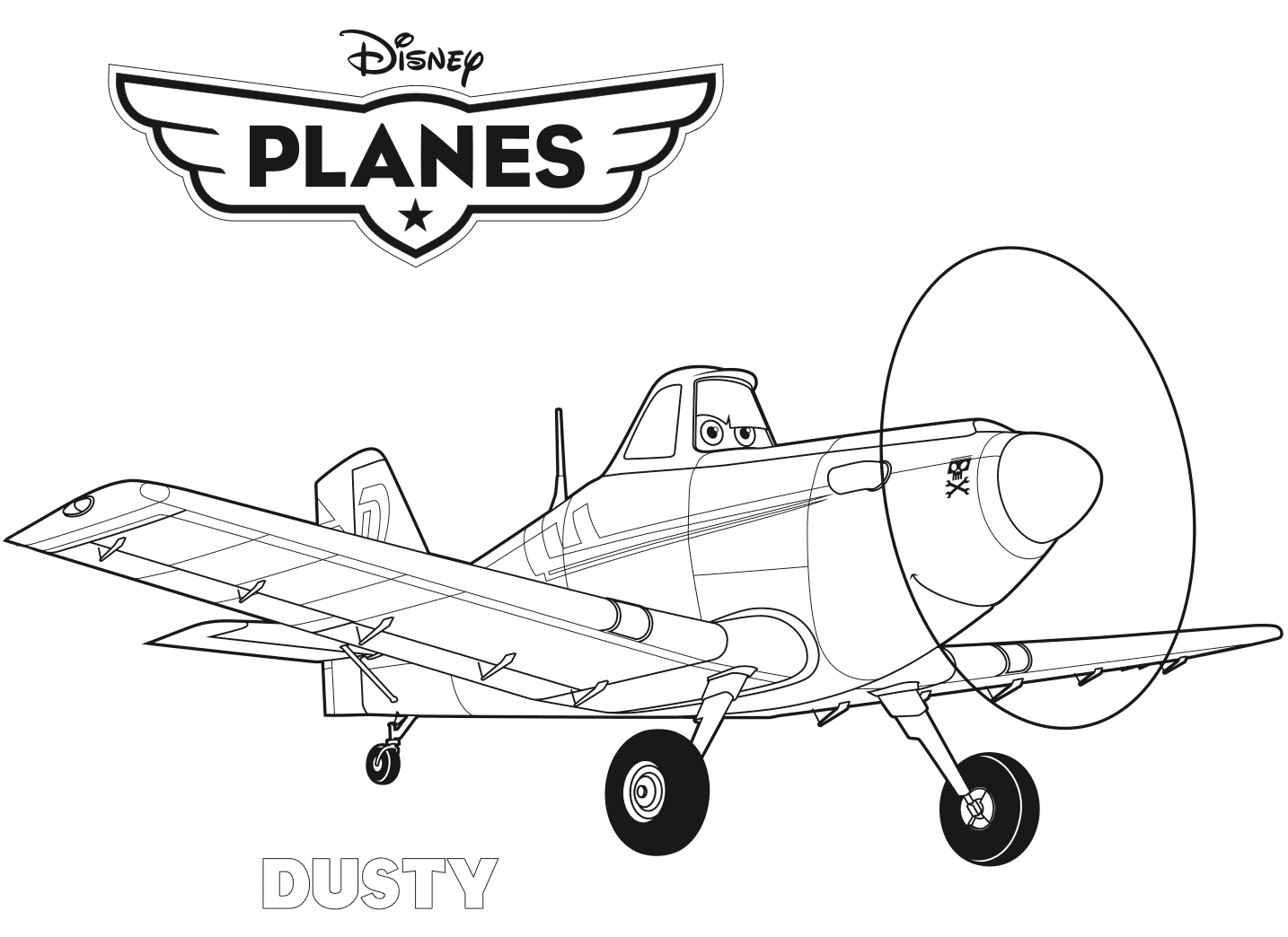 Planes 2 - Dipper, a member of The Smokejumpers coloring page ... | 1044x1434