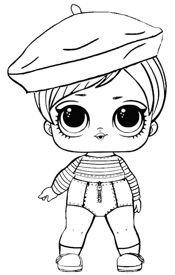 Print LOL Dolls Coloring Pages