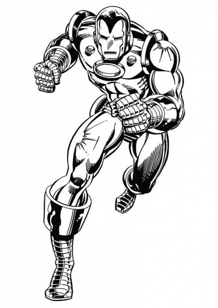 Superhero coloring pages best coloring pages for kids for Disegni da colorare iron man