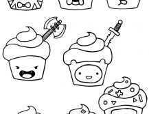 Cartoon Coloring Pages Shopkins