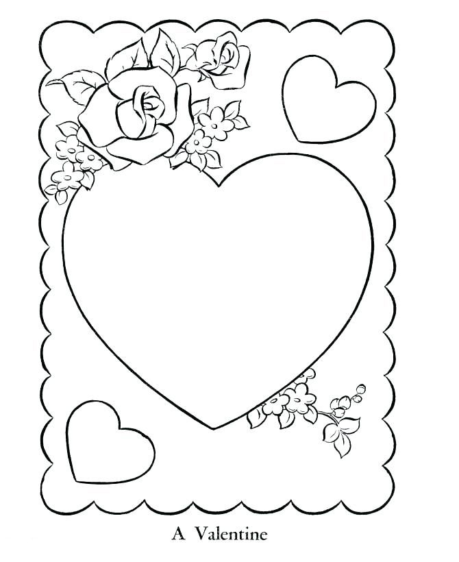 Valentines Day Card Printable