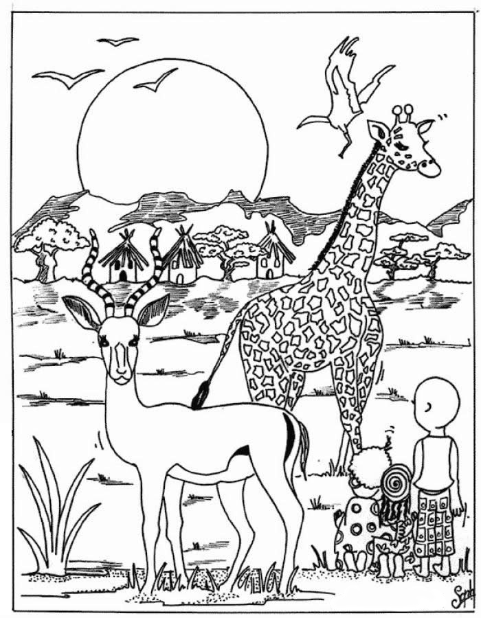 - Wild Animal Coloring Pages - Best Coloring Pages For Kids