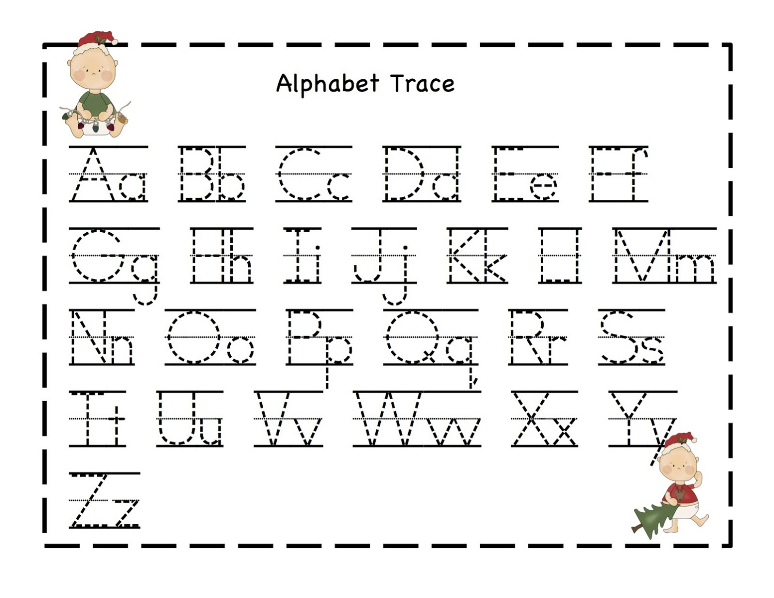 It's just a photo of Nerdy Trace Letters Worksheets