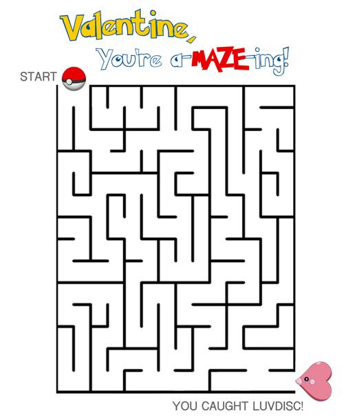 Amazing Valentines Maze