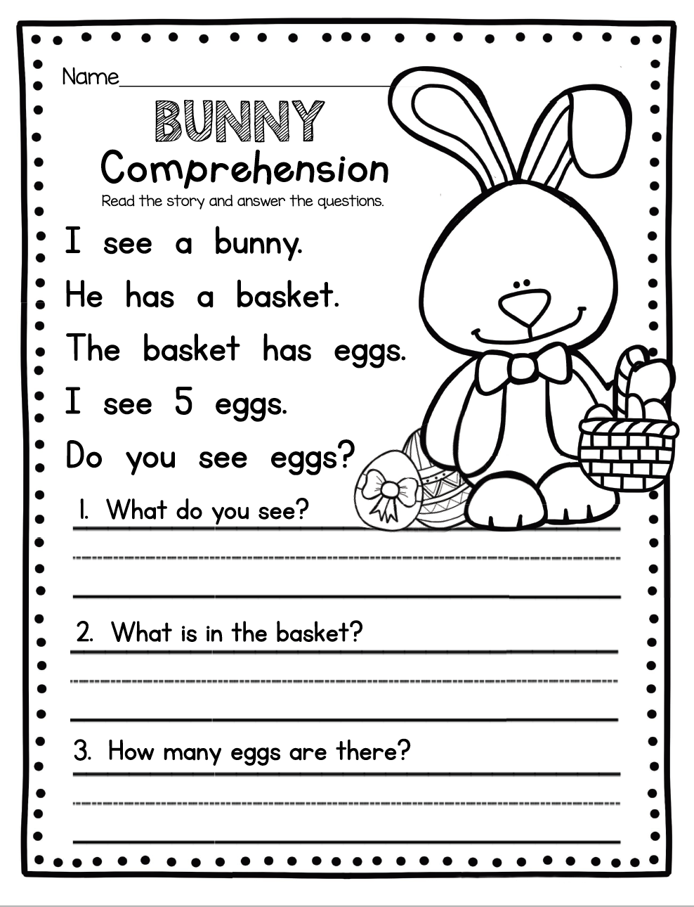 Easter Worksheets Best Coloring Pages For Kids