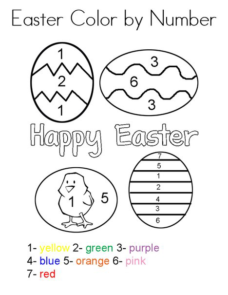 Easter Preschool Worksheets - Best Coloring Pages For Kids