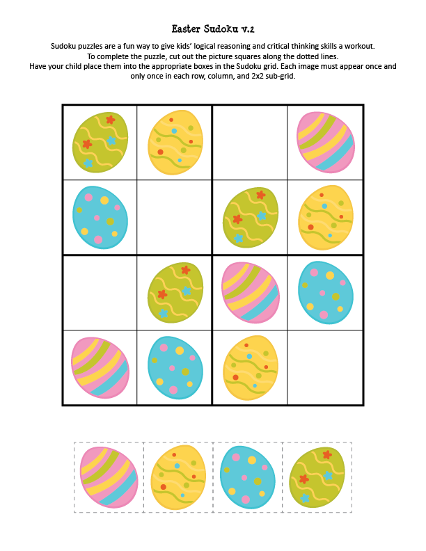 Easter Sudoku Puzzle