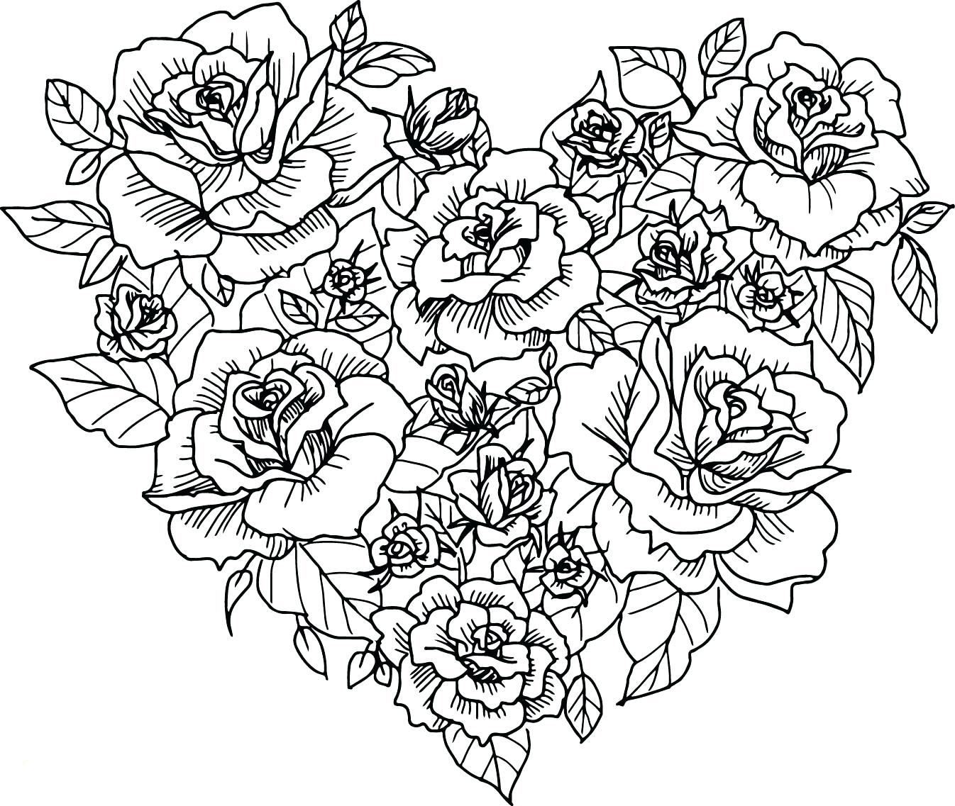 This is a picture of Irresistible Adult Coloring Pages Hearts