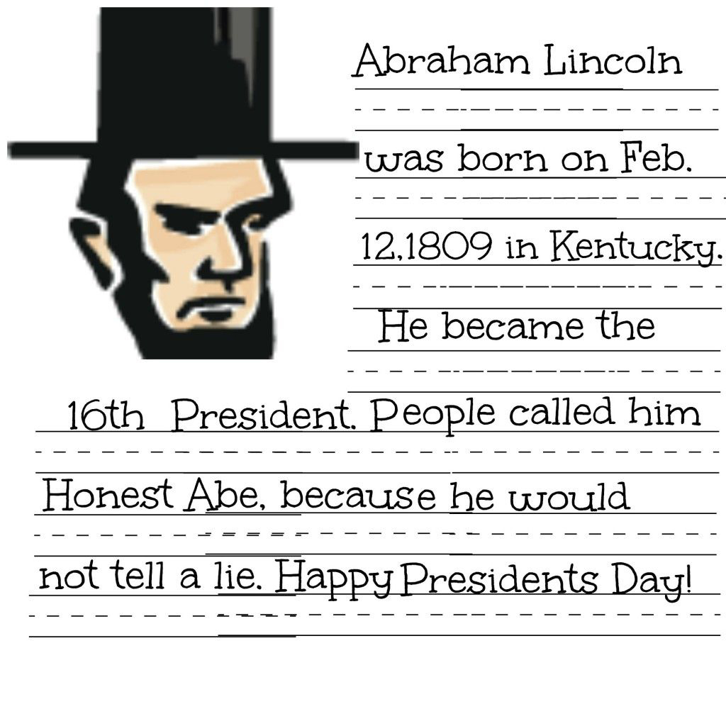 Free Abraham Lincoln Worksheets