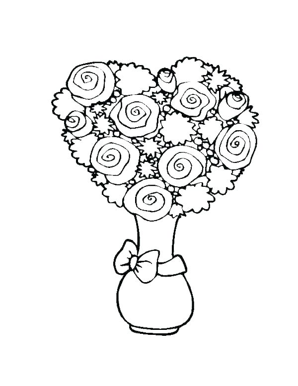 adult rose flowers. hearts and roses coloring pages coloring pages ... | 777x600