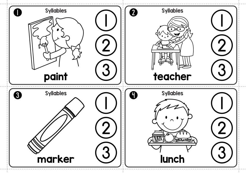 Kindergarten Worksheets Phonics