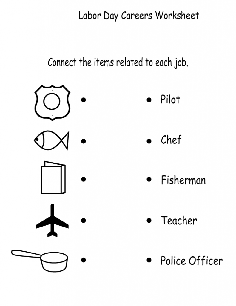 Labor Day Holiday Worksheet