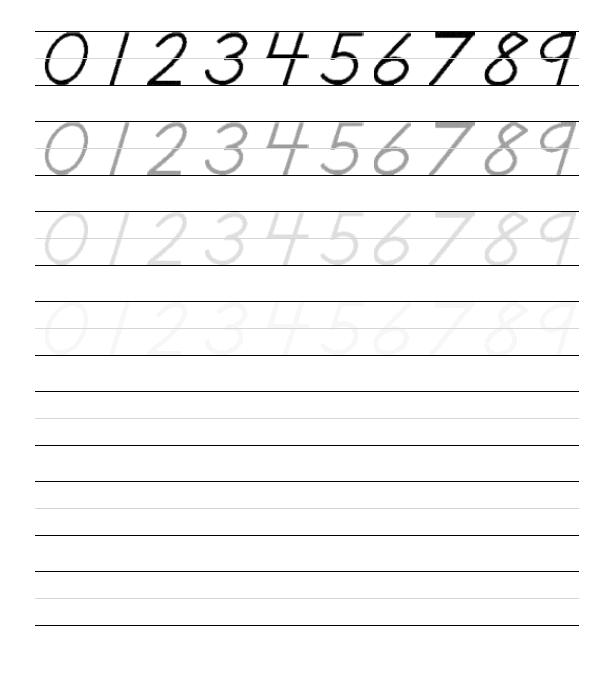 Kindergarten Handwriting Worksheets - Best Coloring Pages For Kids