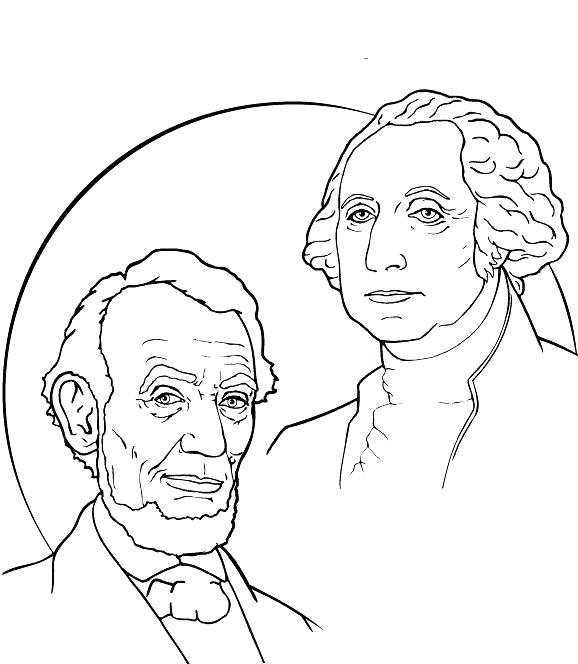 Presidents Day Coloring Worksheets
