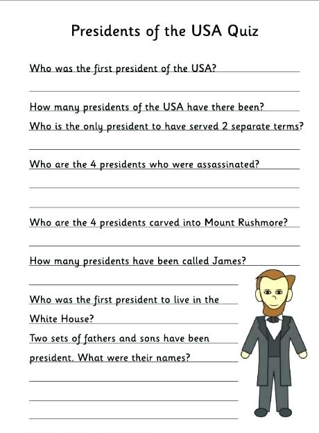 Presidents of the USA Quiz