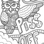 Print Swear Word Coloring Pages