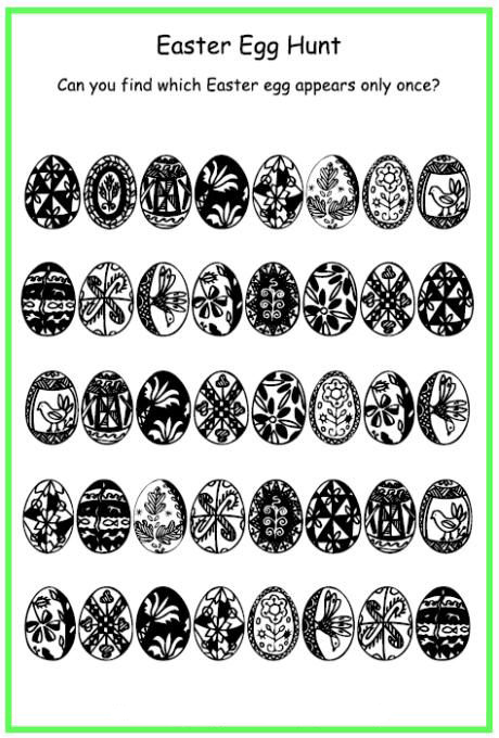 photo relating to Easter Puzzles Printable known as Easter Puzzles - Great Coloring Webpages For Small children