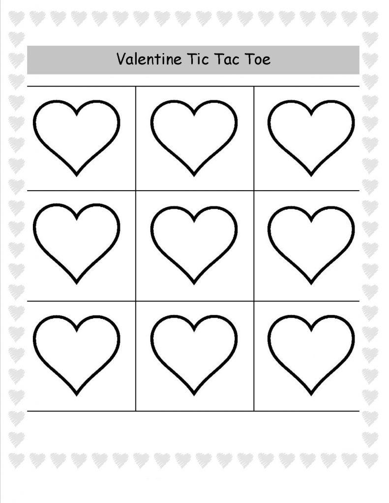 Valentine Tic Tac Toe Game