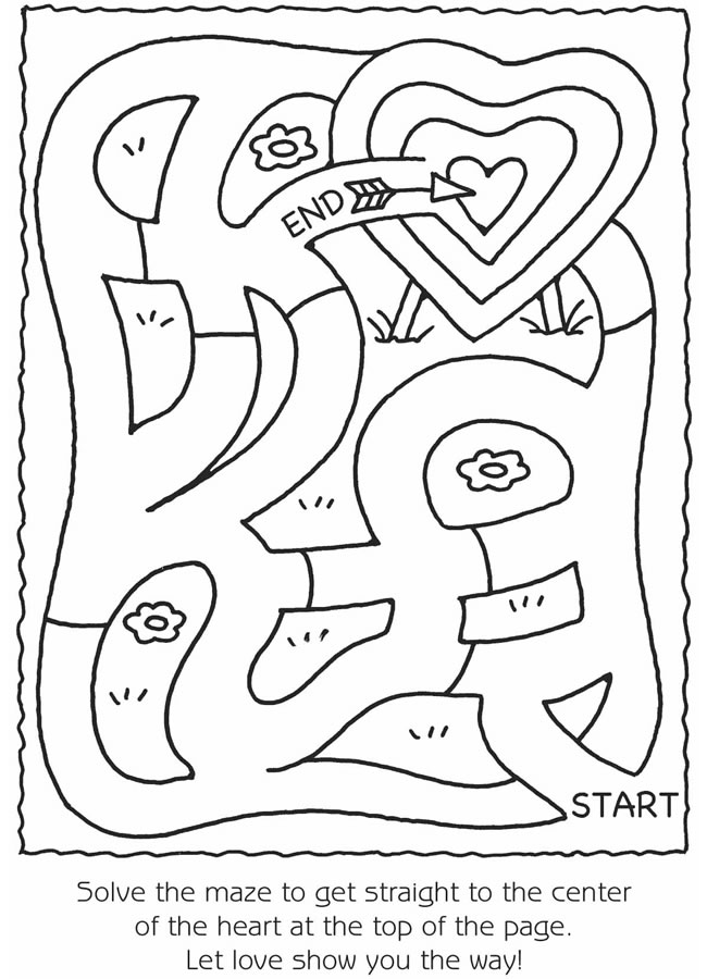 Valentines Maze
