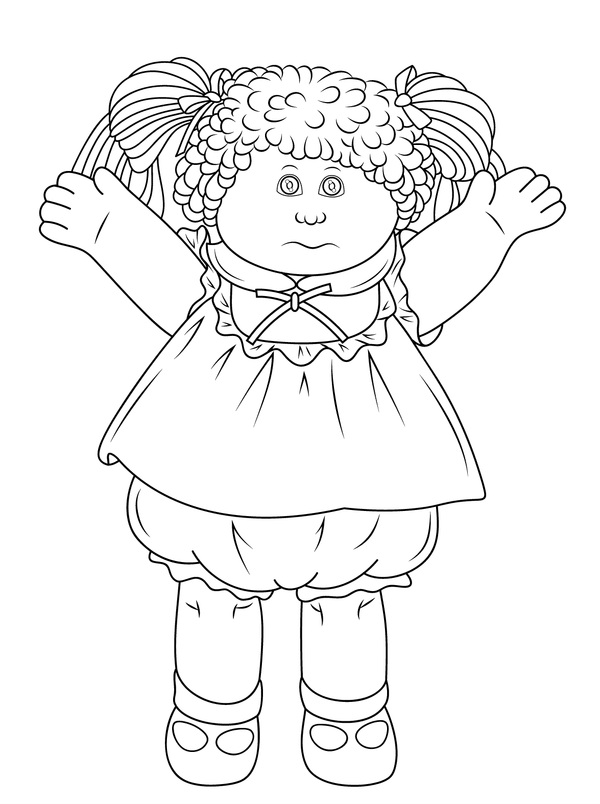 Doll Coloring Pages Best Coloring