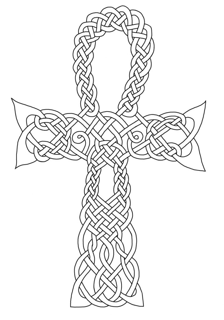 Celtic Ankh Symbol Coloring Pages