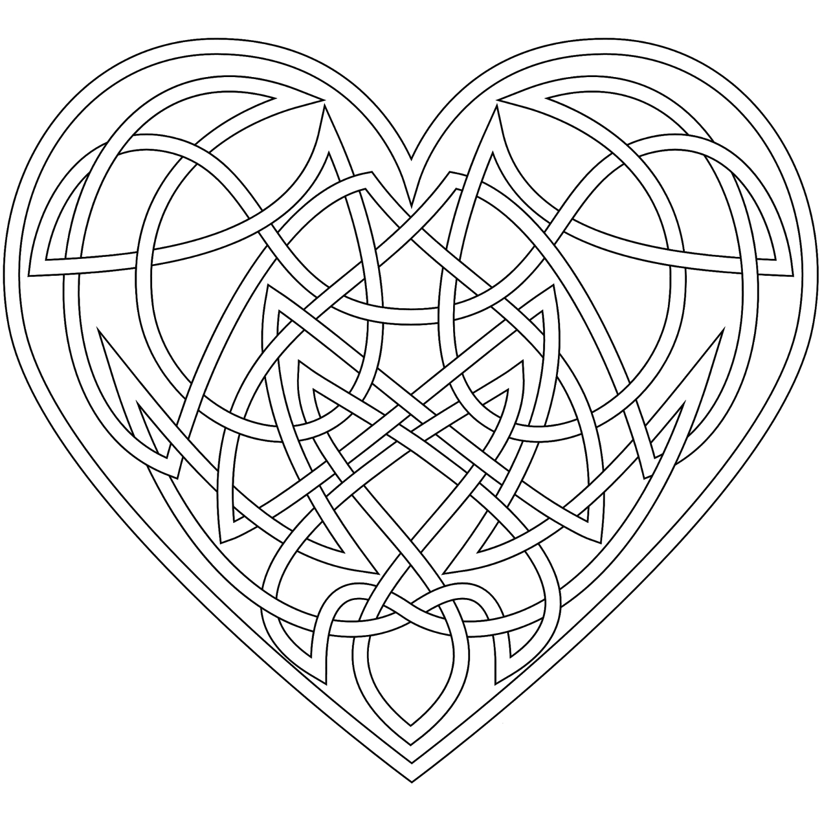 celtic adult coloring pages | Celtic Coloring Pages - Best Coloring Pages For Kids