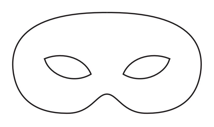 Create Your Own Mardi Gras Mask