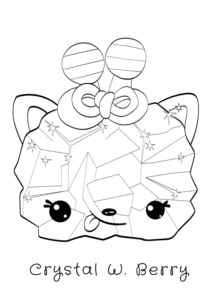 Crystal W Berry Num Noms Coloring Pages