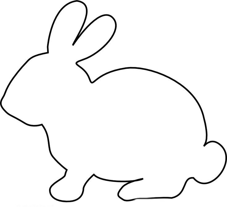 Draw an Easter Bunny Printable Activity