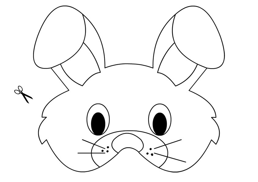 Easter Activities - Bunny Mask