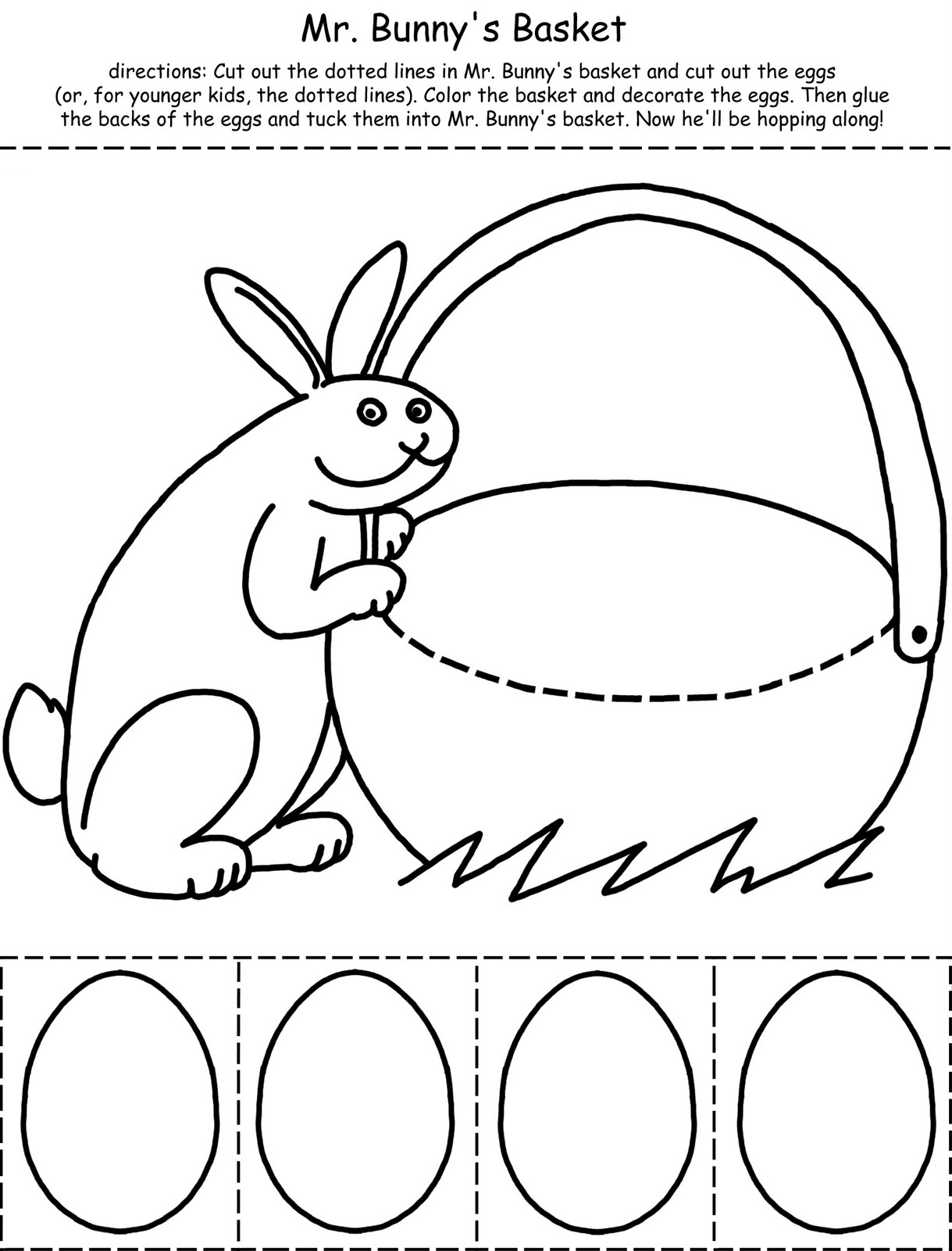 Printable Easter Activities Best Coloring Pages For Kids