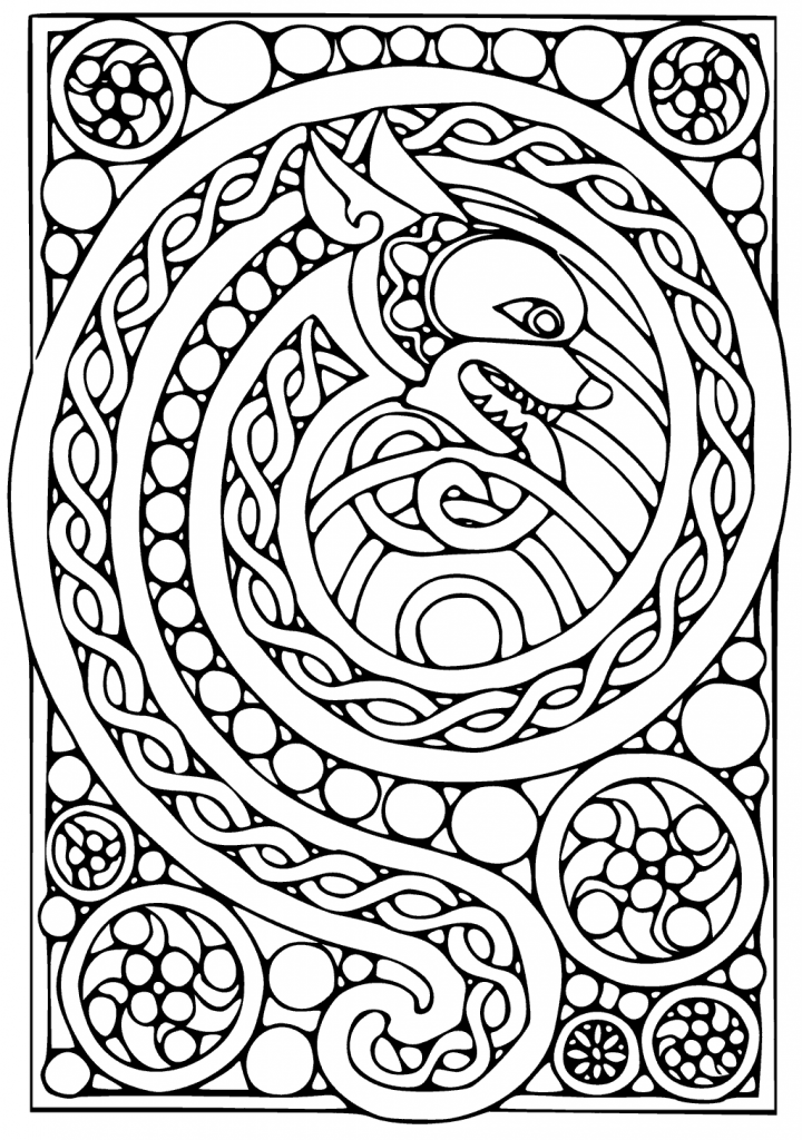 free celtic symbols coloring pages | Celtic Coloring Pages - Best Coloring Pages For Kids
