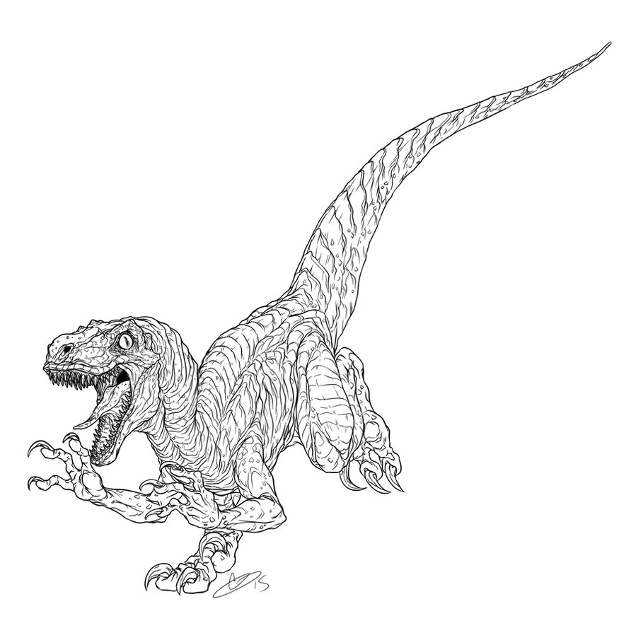 jurassic world echo coloring pages | Jurassic World Coloring Pages - Best Coloring Pages For Kids
