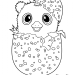 Hatchimal Colleggtables Coloring Page