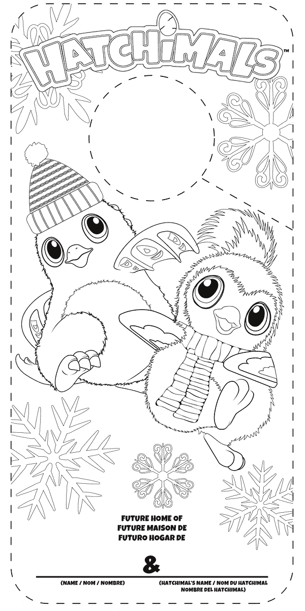 Hatchimals Coloring Pages Best Coloring Pages For Kids