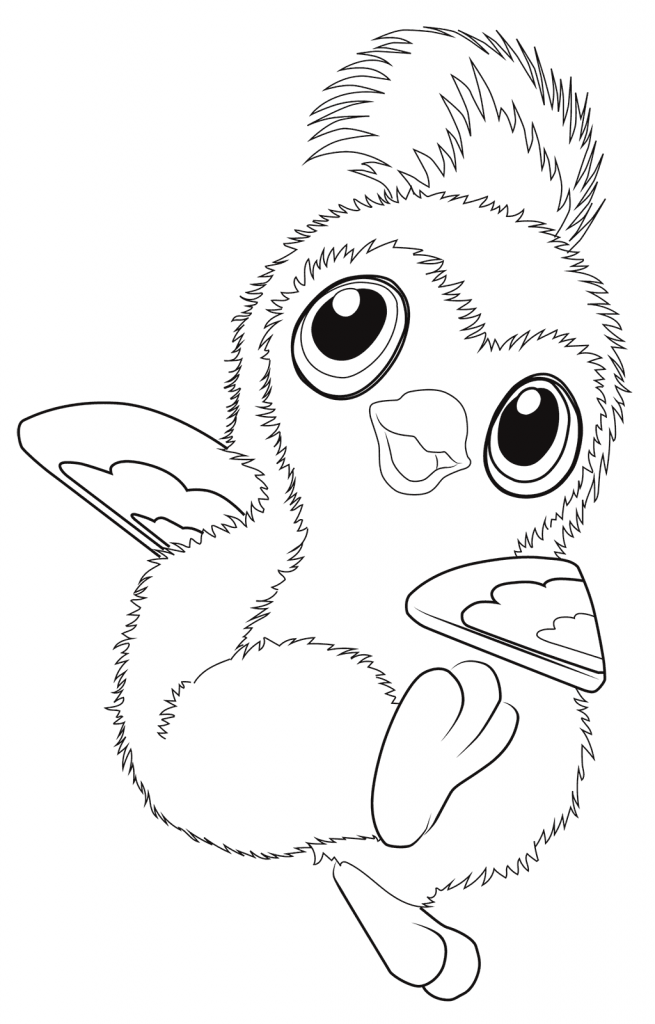 Hatchimals Coloring Pages Penguin