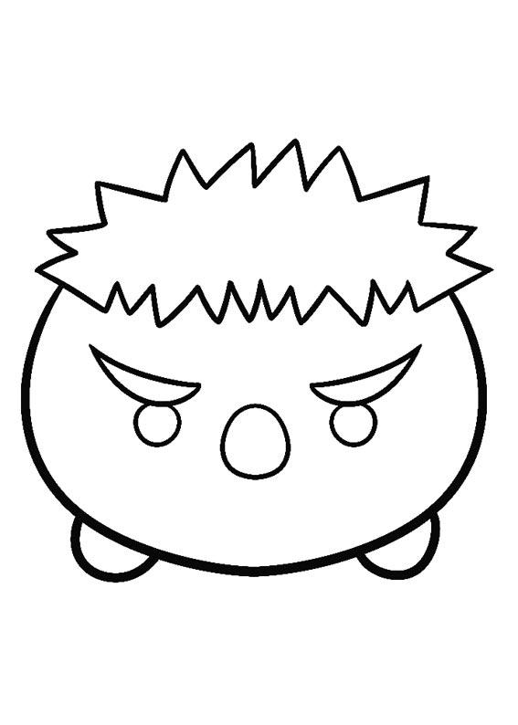 tsum tsum stack coloring pages | Tsum Tsum Coloring Pages - Best Coloring Pages For Kids