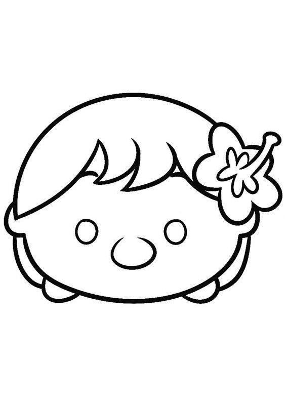 Lilo Tsum Tsum Coloring Pages