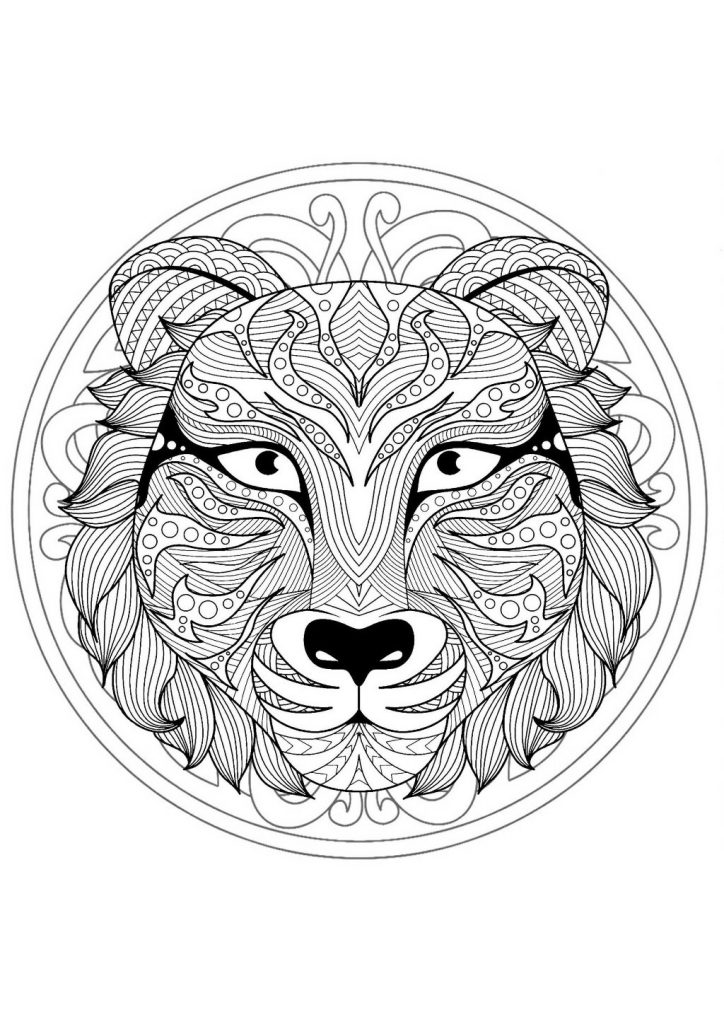 animal mandala coloring pages best coloring pages for kids