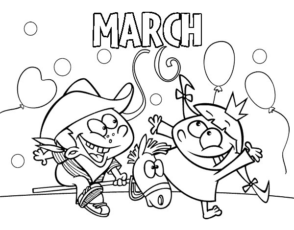 March Coloring Pages - Best Coloring Pages For Kids